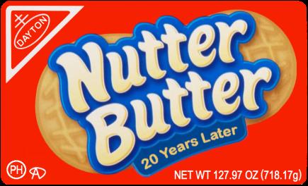 Nutter Butter Sticker