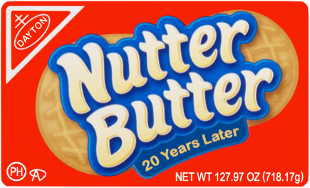 Nutter Butter Sticker
